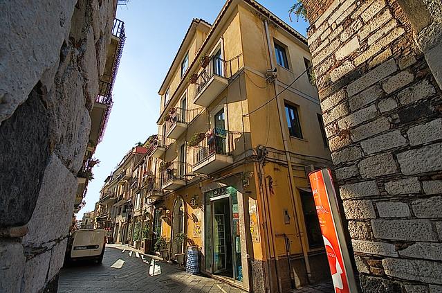 Taormina, Sicilia, Italia...