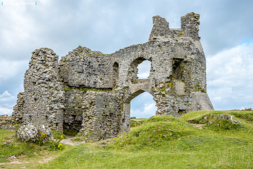 Pennard Castle, Gower, Swansea