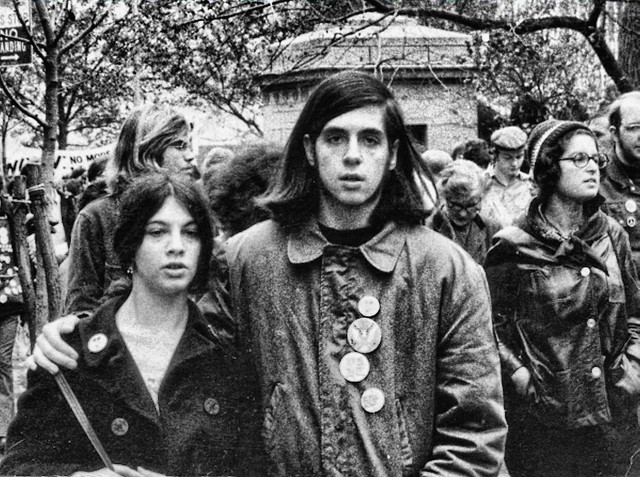 Early 1970's, Antiwar Demonstration