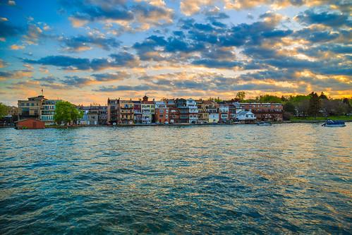 skaneateles skaneateleslake fingerlakes lake water waterfront pier sunrise clouds goldenhour canon6d canon 6d newyork centralnewyork spring