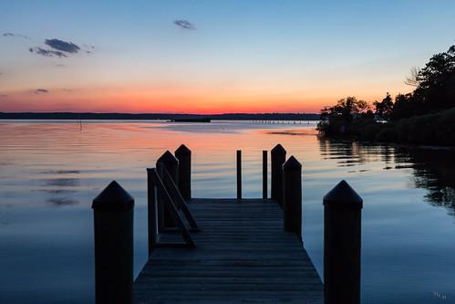 photosbymch landscape sunset river bay pier shipwreck ghostfleet mallowsbay potomacriver maryland usa 2017 canon 5dmkiv sky clouds summer