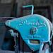 detail of old textile machine por g g m