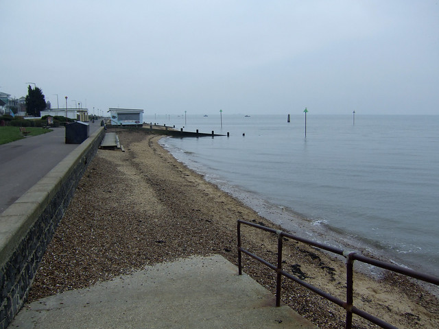 The beach at Chalkwell