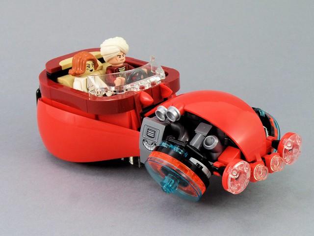 Futuristic City - Red Baron