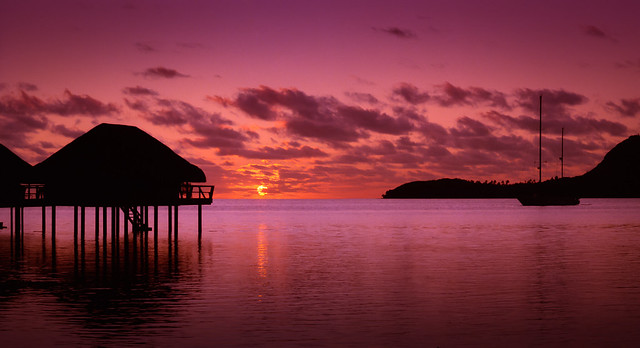 Mo'orea Sunset