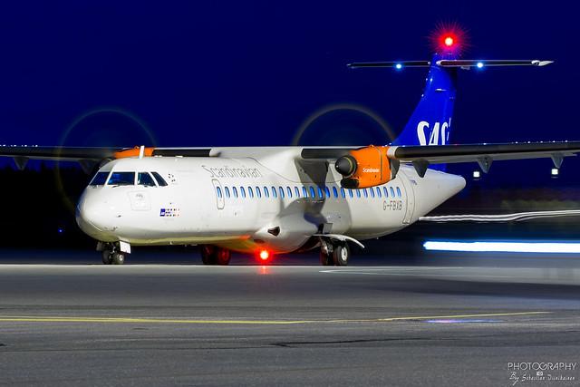 G-FBXB Scandinavian Airlines ATR 72-600, EFTP, Finland