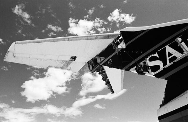 airplane graveyard. mojave, ca. 1997.