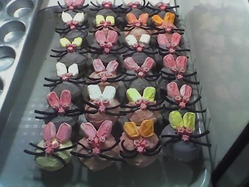Ellins bunny cupcakes | by kikitropicalprincess
