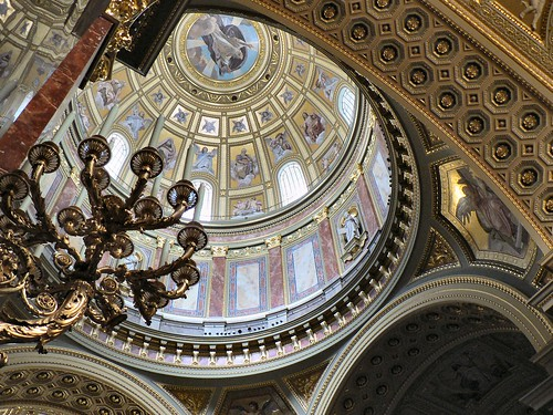 Inside St Andrew's Dome, Budapest | by closelyobservedphoto