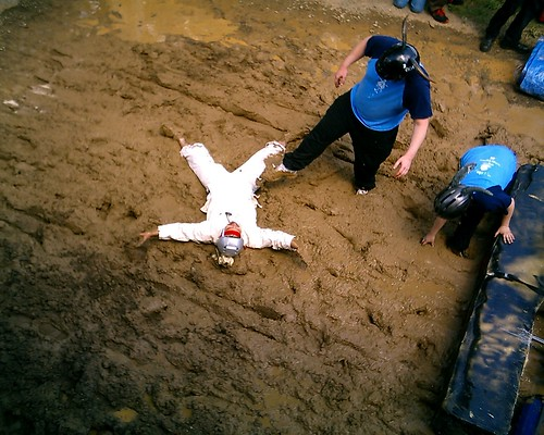 How To Make A Blog >> Mud Pit - Mud Angels   Just to prove how much he loves mud, …   Flickr