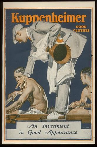 J.C. Leyendecker - Kuppenheimer Ad