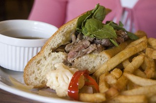 "Roast beef ""French Dip"" 