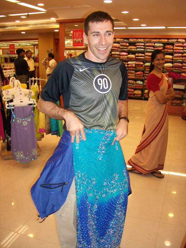 Saree shopping