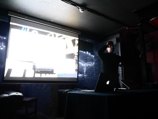 Talk at VJ London 02/2015