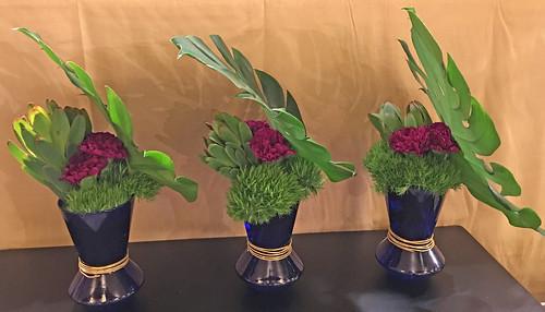 Greenery: TableDecor — Photo Courtesy Sandy Schroeck, AIFD, PFCI, Trend On Design in Eden Prairie, Minnesota, http://www.trendondesign.com/ | by Flower Factor