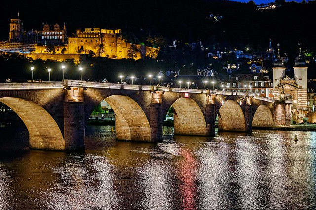 Old town and bridge