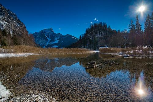 austria see location winter steiermark leobenumgebung österreich schnee