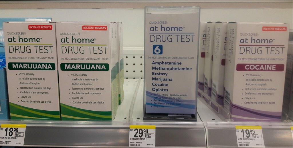 Drug Test At Home Instant Results Marijuana Amphetamine Flickr