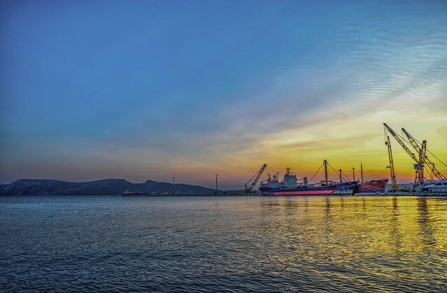 Eleusis Port.