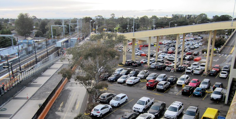 Southland Station - shopping centre car park