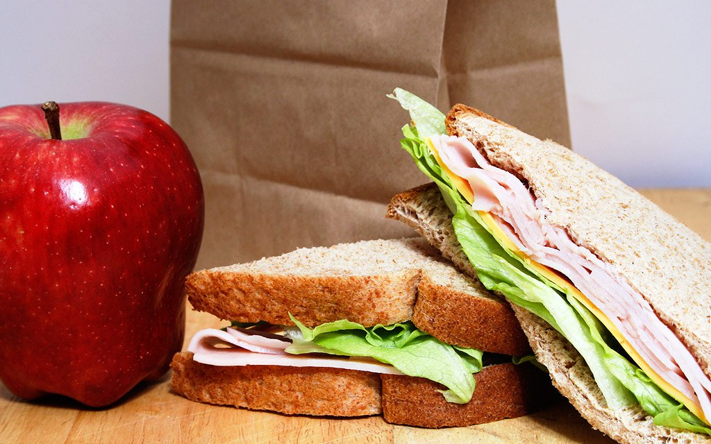 Image result for brown lunch bag
