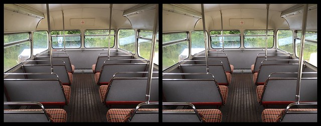Top Deck of an iconic Routemaster Bus