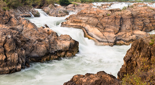 Tat Somphamit Falls, Don Khon, Laos. | by Billy Clapham