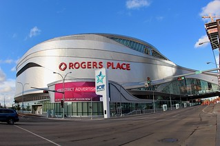 Rogers Place, Home of Edmonton Oilers | by daveynin
