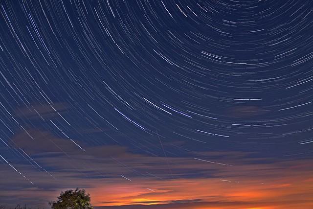 40 Minute Star Trails 08/09/17