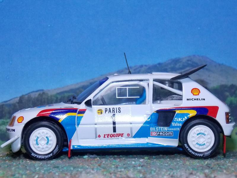 Peugeot 205 Turbo 16 EVO2 – Montecarlo 1986