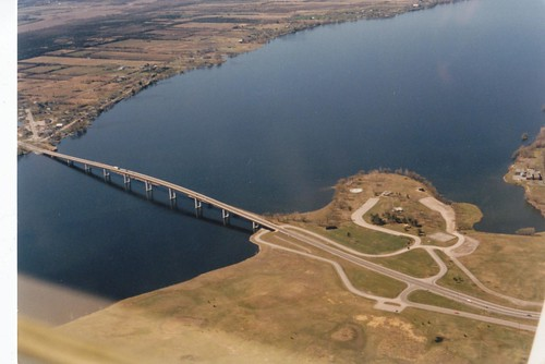 aerialphotographs 1980s bridges