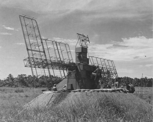 SCR-268 at Henderson Field, Guadalcanal   by Pacific Eagles