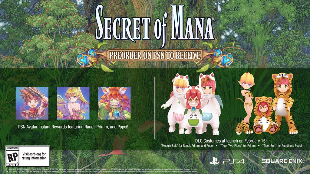 Secret of Mana for PS4 and PS Vita | PlayStation Blog | Flickr