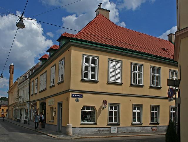 Street Corner in Hietzing