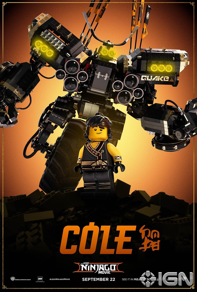 The Lego Ninjago Movie Character Poster Cole More On Wwwh Flickr
