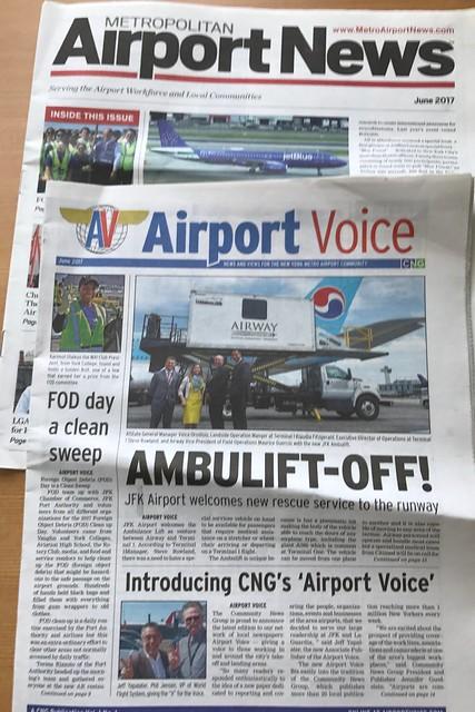 土, 2017-06-24 08:27 - NYC空港の業界紙