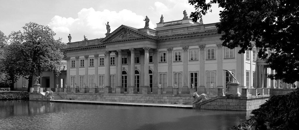 Pałac Na Wyspie Park łazienki Królewskie Warszawa