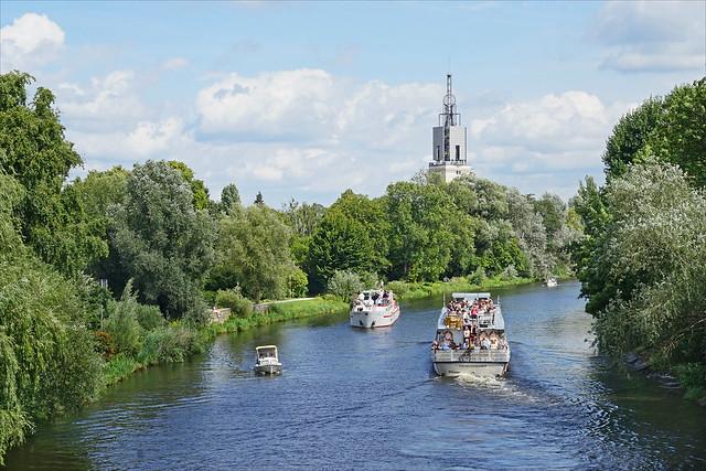 La Havel à Potsdam