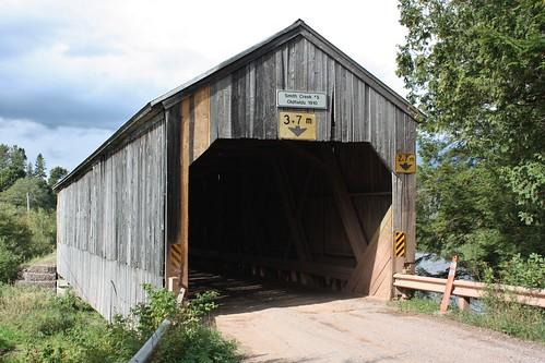 newtown smithscreek newbrunswick canada bridge coveredbridge