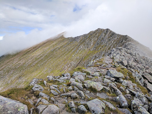 Carn Mor Dearg Arete route | by angelatravels11