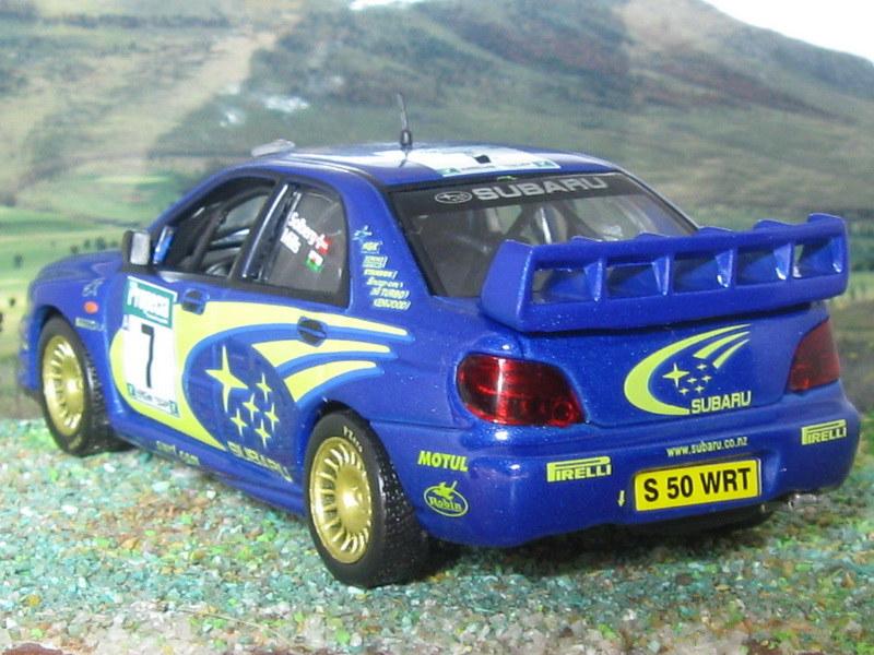 Subaru Impreza WRC – Nueva Zelanda 2003