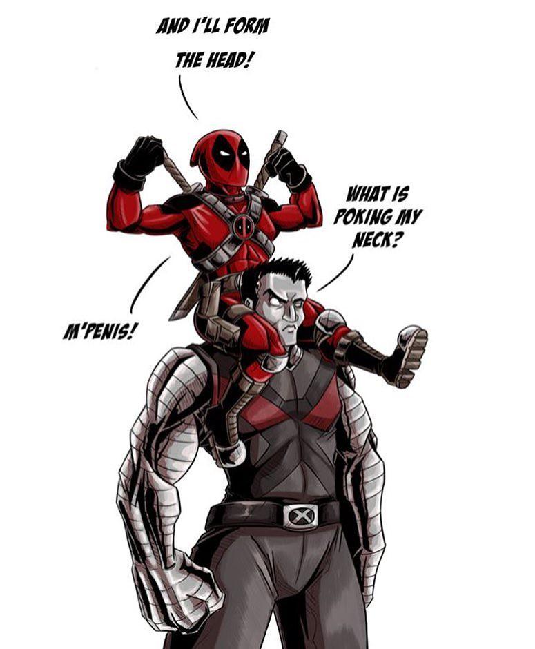 Deadpool Comic Book Concept Art