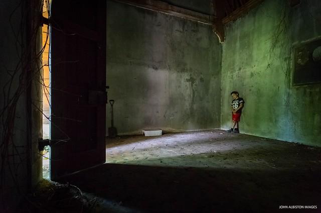 Boy In A Mausoleum #2