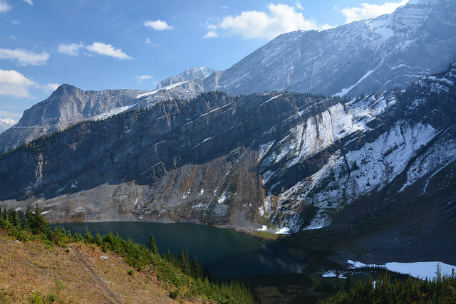 Rawson  lake from Sarrail Ridge
