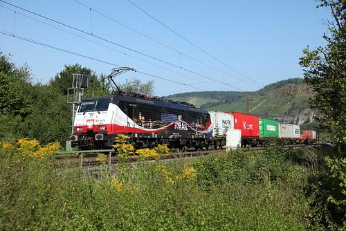 LTE  ES 64 F4-212  Maindal bij Himmelstadt richting Oostenrijk   by JvanSt