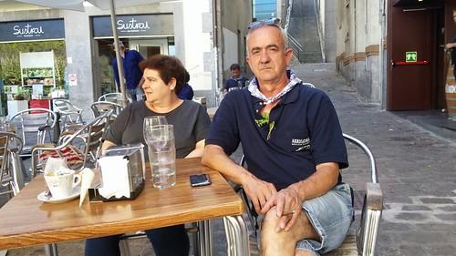 Joserra Artetxe eta Marijo Garmendia