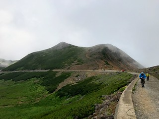 乗鞍岳 肩の小屋~お花畑 富士身岳   by ichitakabridge