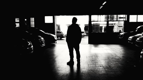Shadows of the garage   by Wal Wsg