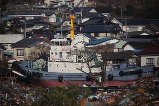 Kazumaru no.1 inland at Ofunatu