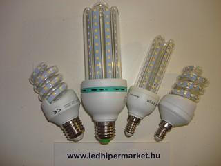 SMD LED kompakt izzók!